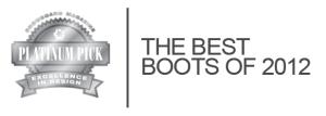 platinum boot award 2012