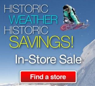 snow frenzy sale