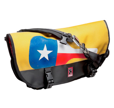 Lil Tuffy Austin Limited Edition Chrome Citizen Messenger Bag