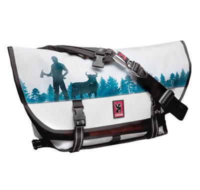Lil Tuffy Minneapolis Limited Edition Chrome Citizen Messenger Bag
