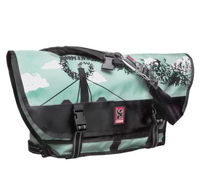 Lil Tuffy Portland Limited Edition Chrome Citizen Messenger Bag