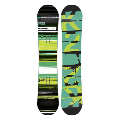Built with FLatline technology, the Playback is a formidable freestyle, twin tipped board