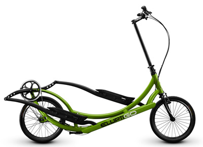 ThWith 3 Speeds and and elliptical foot movement, the Elliptigo is a great fitness option.