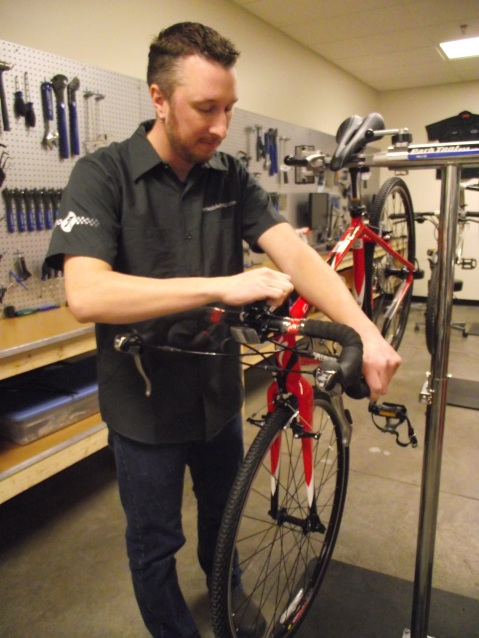 Our mechanics will make sure your bike rides like it should so you're ready to go when the weather turns nice.