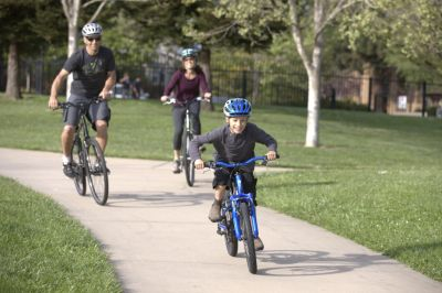 Family riding is a great way to keep kids healthy and active while building good habits for the future.
