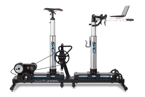 The newest version of Serotta's Size Cycle - one of the high tech options in bicycle fit.