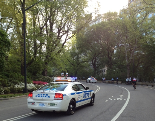 New York's finest escort through Central Park