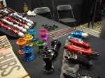 What trade show is complete without some hot colors? We've done some great builds in the shop using Industry 9 hubs.