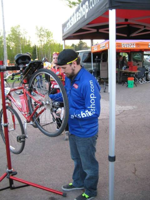 Erik's MS150 Mechanics