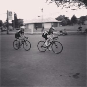 Racing the State Fair Affair Crit this summer at the MN State Fair Grounds.