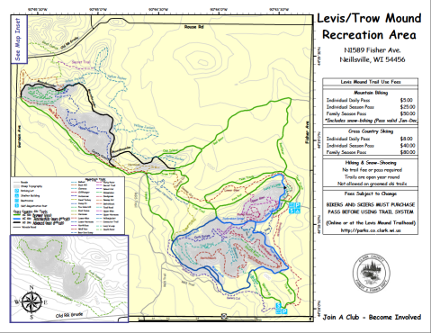 Free maps are available at the trailhead, but getting lost anywhere else just wouldn't be as fun.