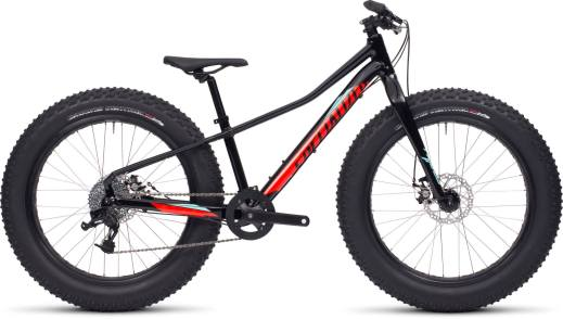 20115 Specialized fatboy 24 in Black / Rocket Red / Teal