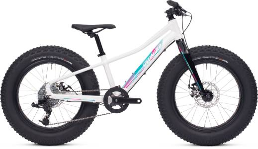 2015 Specialized Fatboy 20 White / Turquoise / Pink