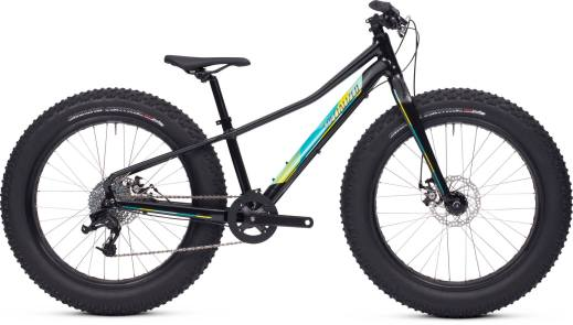 2015 Specialized Fatboy 24 in Black/Turquoise/HyperGreen