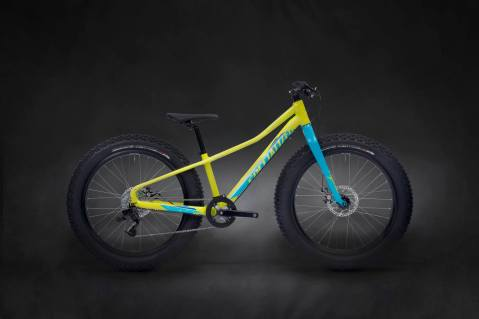 2015 Specialized Fatboy in Hyper Green/Cyan/Royal Blue