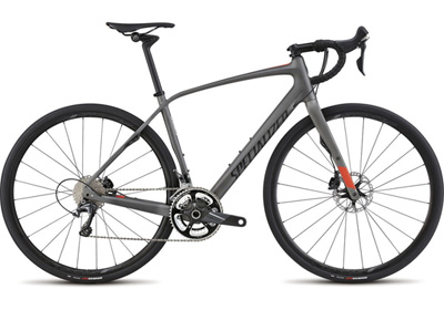Featuring Shimano Ultegra 11-speed dirvetrain with hydraulic brakes and the CGR post, the Diverge Expert goes wherever you want to go.